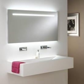 0762 Flair 1250 2 Light Switched Mirror Light IP44