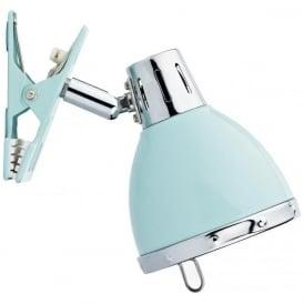 OSA4123 Osaka 1 Light Clip Lamp Blue