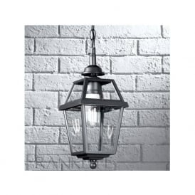EXT6610 Nerezza 1 Light Outdoor Lantern Dark Grey IP43