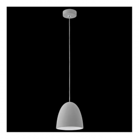 92521 Pratella 1 Light Pendant Grey Ceramic