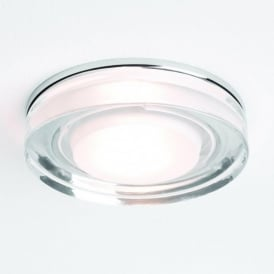 5518 Vancouver Round 1 Light IP65 Downlight Polished Chrome