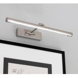 0873 Goya 460 LED 1 Light Picture Light Brushed Nickel