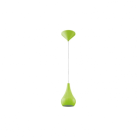 92943 Nibbia 1 Light Pendant Green