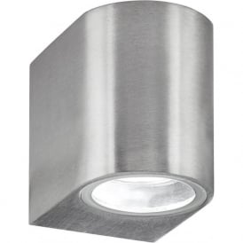 8008-1SS Outdoor Lighting 1 Light Wall Light Stainless Steel IP44