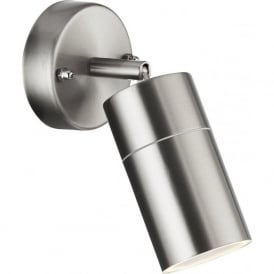 6411SS-LED Outdoor Lighting 1 Light Adjustable Spotlight Stainless Steel IP44