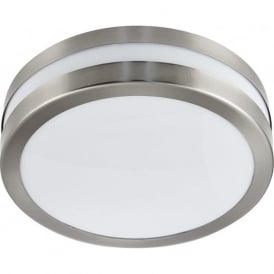 2641-28 Outdoor Flush Ceiling Light Stainless Steel IP44