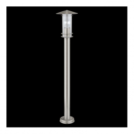 30188 Lisio 1 Light 1 Light Outdoor Post Lamp Stainless Steel IP44