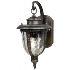 Lighting STL2/S St. Lewis 1 Light Outdoor Wall Light Weathered Bronze