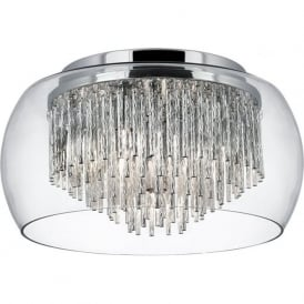 4624-4CC Alera 4 Light Semi-flush Ceiling Light Polished Chrome