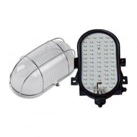DEAN-B Outdoor LED Bulkhead Light Polished Chrome IP44