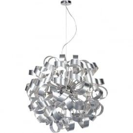 RAW1250 Rawley 12 Light Ceiling Light Aluminium