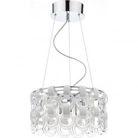 HOO1350 Hoop 9 Light Ceiling Light Polished Chrome