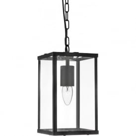 4241BK 1 Light Lantern Black