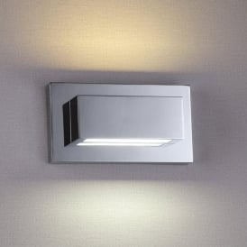1752CC LED Wall Light Up/Downlighter Polished Chrome