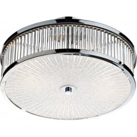 ARA5250 Aramis 3 Light Flush Ceiling Light Polished Chrome