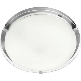 2541-38 Bathroom Flush Ceiling Light IP44