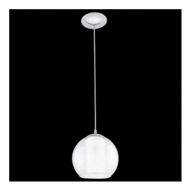 92761 Bolsano 1 Light Pendant Polished Chrome
