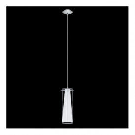 89832 Pinto 1 Light Pendant Polished Chrome