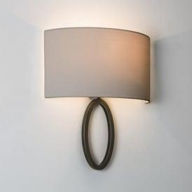 7151 Lima 1 Light Wall Light Bronze