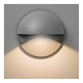 7265 Tivoli 1 Light Outdoor Wall Light Silver IP65