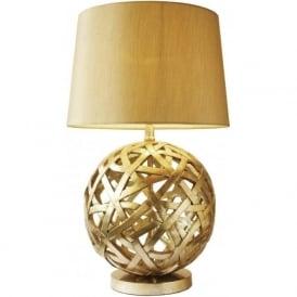 BAL4263 Balthazar 1 Light Table Lamp Antique Gold