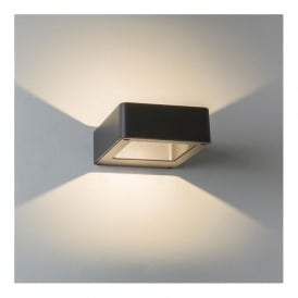 7404 Napier 1 Light Outdoor Wall Light Black IP54