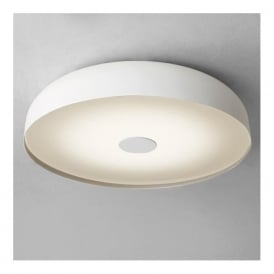 7274 Mantova 3 Light Flush Ceiling Light IP44 White
