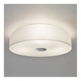 7189 Syros 3 Light Flush Ceiling Light IP44 White