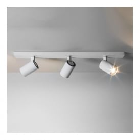 6144 Ascoli Triple Bar 3 Light Spotlight White