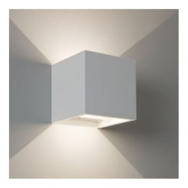 7152 Pienza LED 1 Light Up/Down Wall Light Plaster