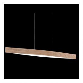 93342 Fornes 4 Light LED Pendant Oak