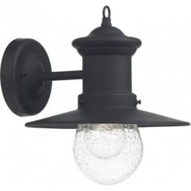 SED1522 Sedgewick 1 Light Outdoor Wall Light Black IP44
