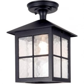 BL18A Winchester 1 Light Outdoor Porch Lantern Black IP43