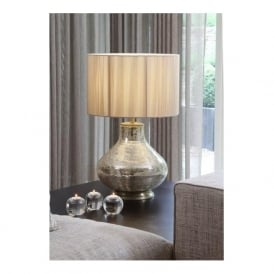 970-CHA Hayworth Mosaic Table Lamp Champagne