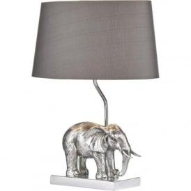 ENR4232/X Enrique 1 Light Table Lamp Antique Silver