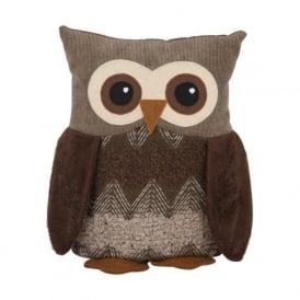 70-219 Fabric Owl Doorstop