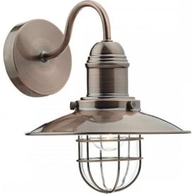 TER0764 Terrace 1 Light Wall Light Copper