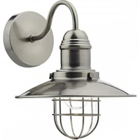 TER0761 Terrace 1 Light Wall Lamp Antique Chrome