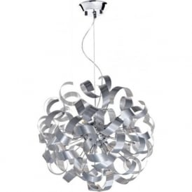 RAW1350 Rawley 9 Light Ceiling Light Aluminium