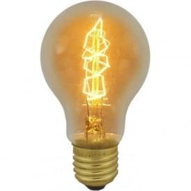 01486 ES/E27 40 Watt Vintage GLS Squirrel Cage Bulb