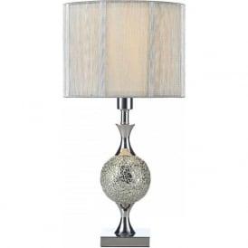 ELS4239 Elsa 1 Light Table Lamp Polished Chrome