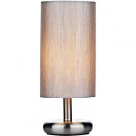 TIC4139 Tico 1 Light Touch Table Lamp Satin Chrome