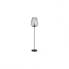 49474 Newtown 1 Light Floor Lamp Black