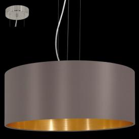 31608 Maserlo 3 Light Pendant Glossy Cappucino