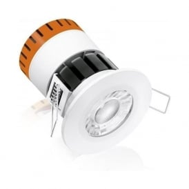 EN-DE8/40 8w LED Intergrated IP65 Dimmable Fixed Firerated Downlight Cool White