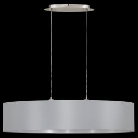 31617 Maserlo 2 Light Pendant Glossy Grey