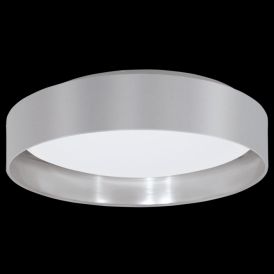 31623 Maserlo LED Ceiling Light Glossy Grey