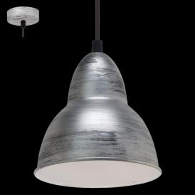 49236 Truro 1 Light Ceiling Pendant Antique Silver