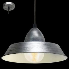 49246 Auckland 1 Light Ceiling Pendant Antique Silver