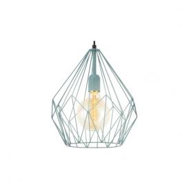 49259 Carlton 1 Light Ceiling Pendant Mint